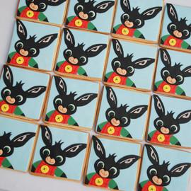 'Bing Bunny' Iced Sugar Cookies
