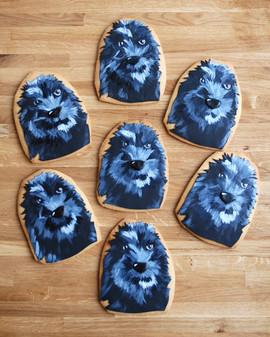 'Roxy' Handpainted Sugar Cookies