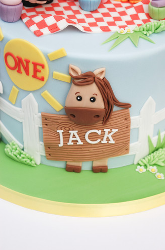 Farm Fun cake