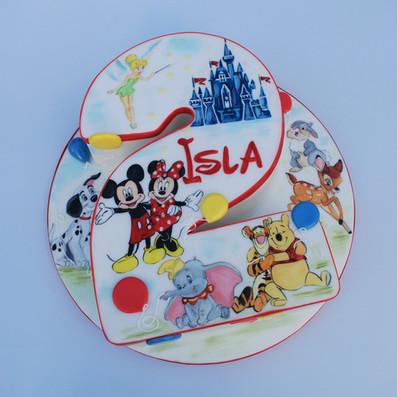 Disney 2nd Birthday cake