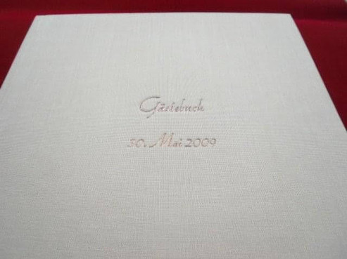 Hochzeitsbücher