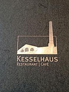 "Logoprägung ""Kesselhaus"""