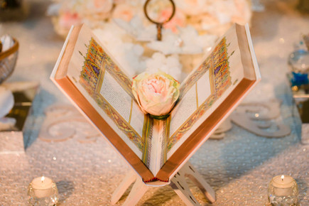 A Persian wedding styling a Sofreh Aghd table