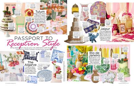 Latest work: You & Your Wedding May/June issue