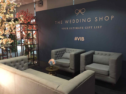 The Wedding Shop VIP room at Brides The Show