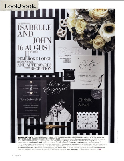 Papier stationery trend shoot