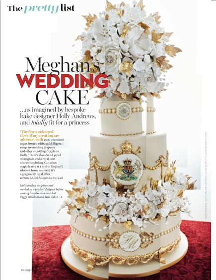 Predicting Meghan & Harry's Wedding Cake