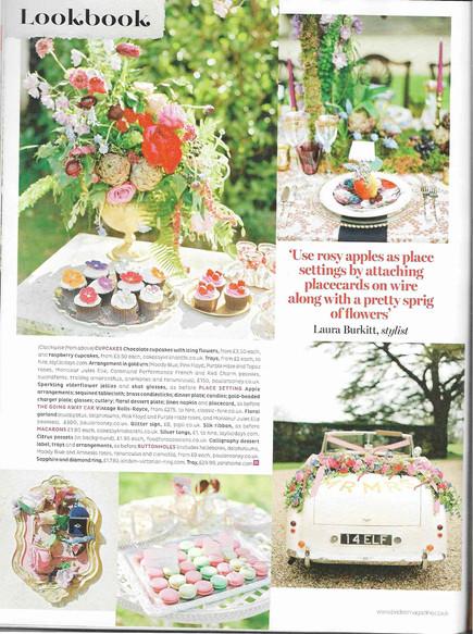 Latest work: Brides magazine