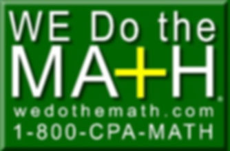 WE Do The Math® Logo