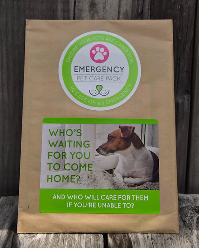 Emergency Pet Care Pack