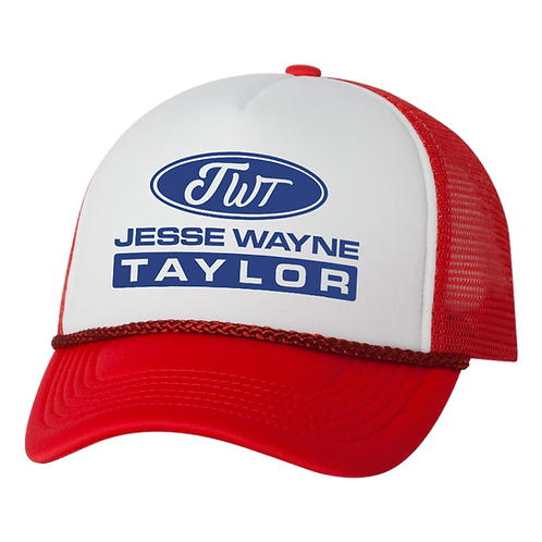 Red, White & Blue JWT Trucker Hat