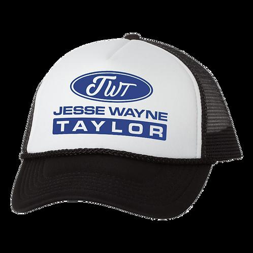 Black JWT Trucker Hat