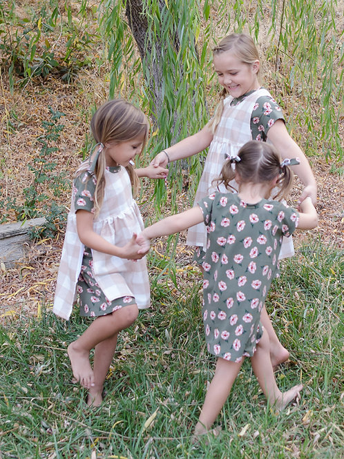 Maple Dress & Top,Acorn Overdress