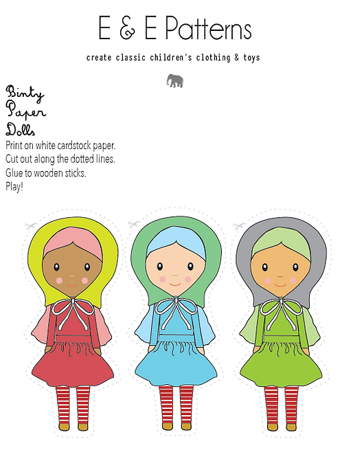 Binty Paper Dolls