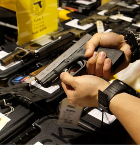 Sólo el 20% de las armas que circulan en el país tienen la licencia de uso en orden