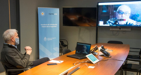 El Ministerio de Seguridad promueve el trabajo con la Red Argentina para el Desarme y la ANMaC