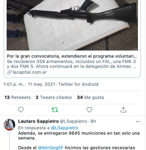 Lautaro Sappietro, Subsecretario de la Agencia Provincial de Prevención de Violencia con Armas de Fuego