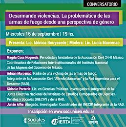 CONVERSATORIO VIRTUAL CATEDRA ABIERTA ALFREDO MARCENAC