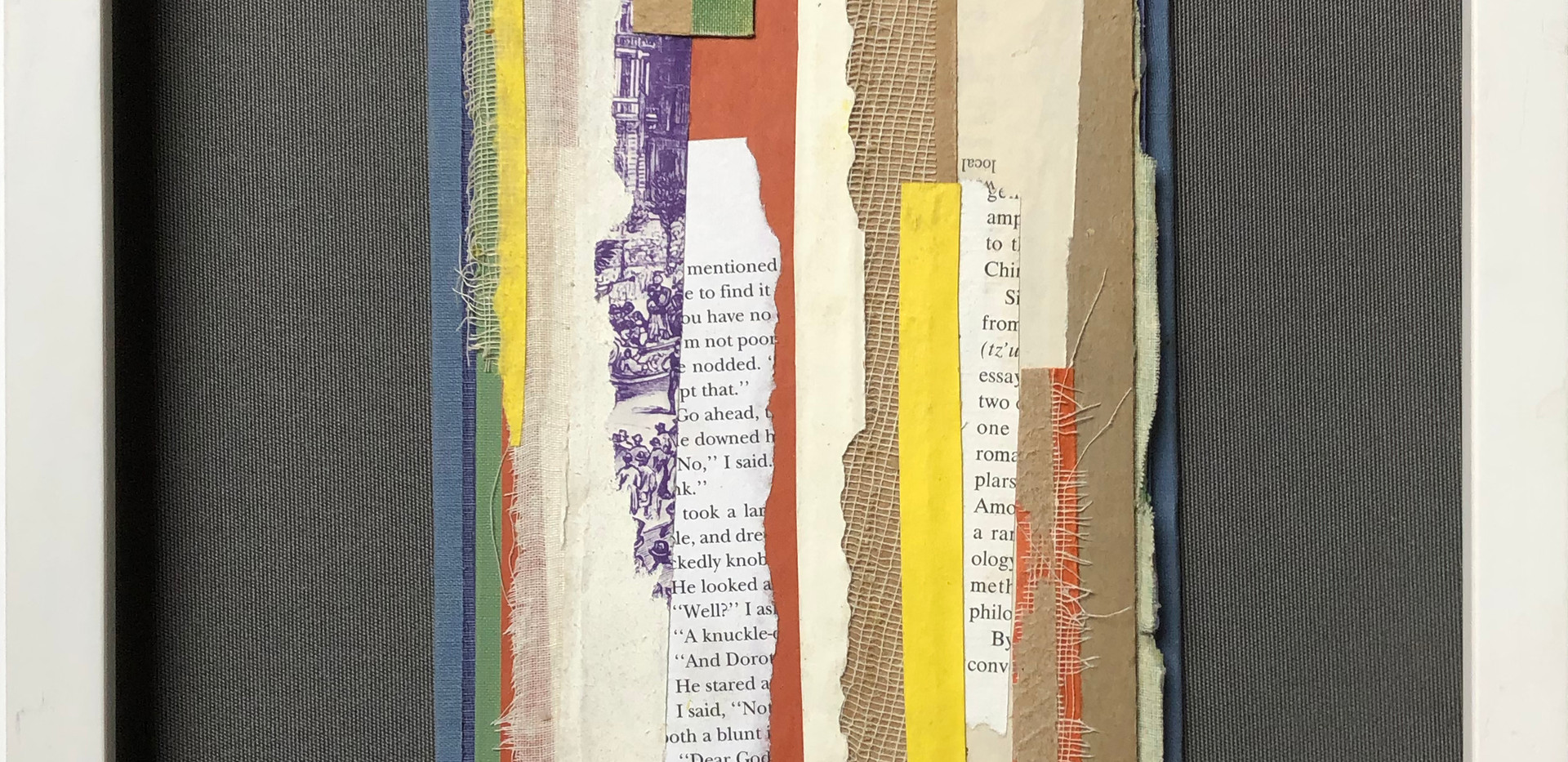 Marc Zaref_Book Parts_Blue Orange on Gre