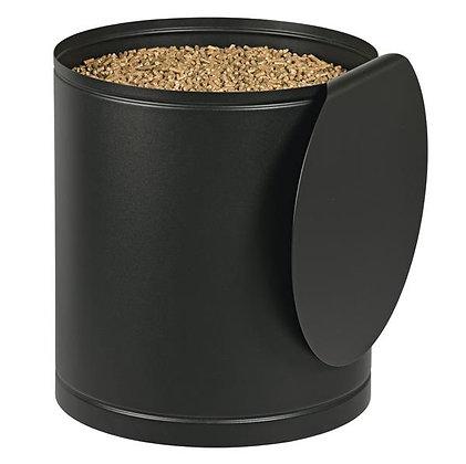 stockeur à granulés noir contenance  50 kg - DIXNEUF