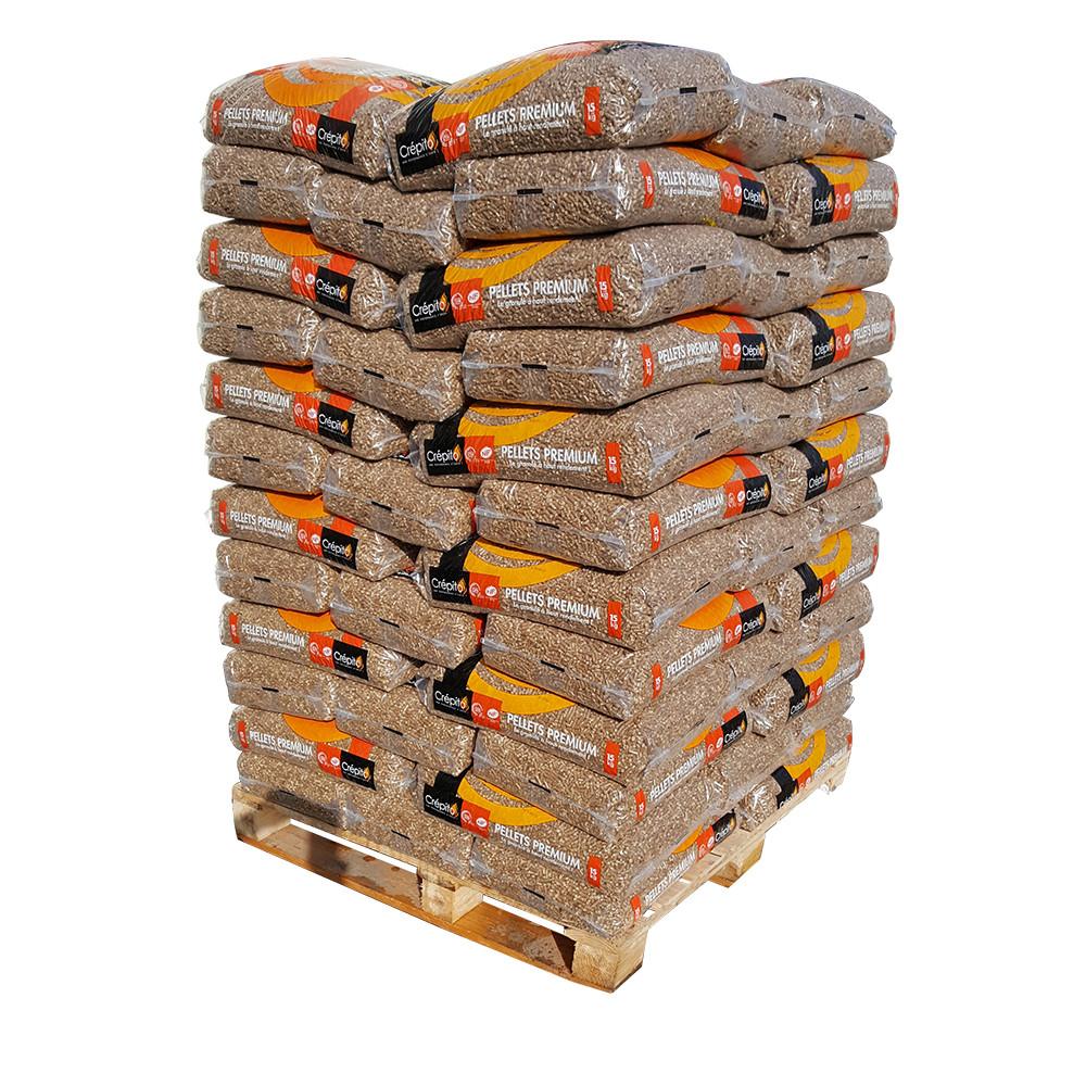 Palette pellets Crépito