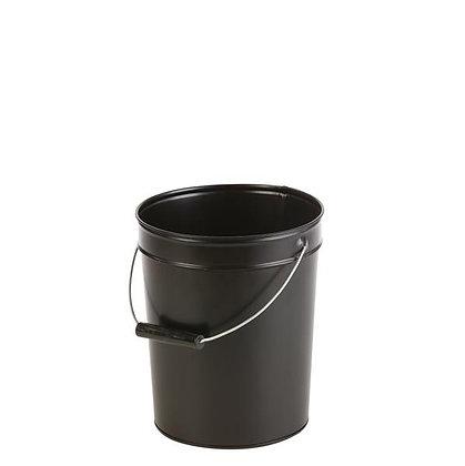 Seau à cendre pour poêle à bois ou pellets, contenance 15 L - NOIR DIXNEUF