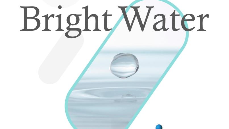 Bright Water 1 liter flaske