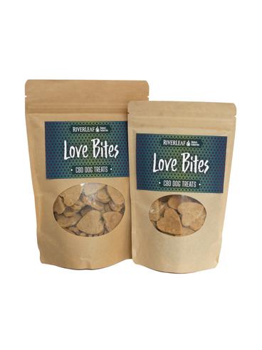 Love Bites - CBD Dog Treats (4oz or 8oz) $22-$35