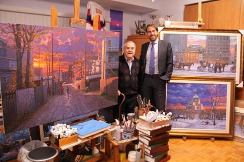 Consul Géneral d'Italie, M. Marco Riccardo Rusconi