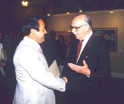 M. Jean Drapeau✝, ex-maire de Montréal