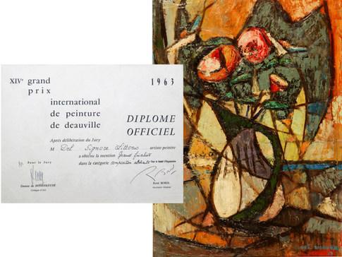 Grand Prix International de Peinture de Deauville, France 1963