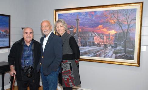 M. Yvon Deschamps et son épouse Me Judi Richards