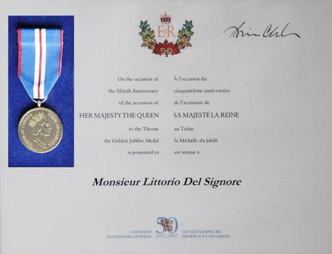 Médaille du Jubilé de la Reine Elisabeth II (1952-2002)
