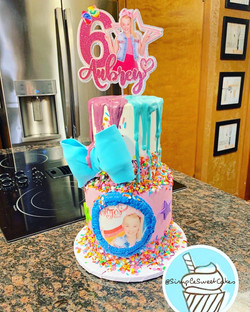 Happy 6th Birthday Aubrey! JoJo Siwa Cak