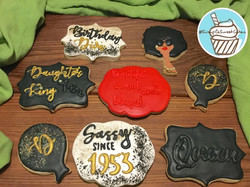 "Birthday ""Diva"" Cookies"