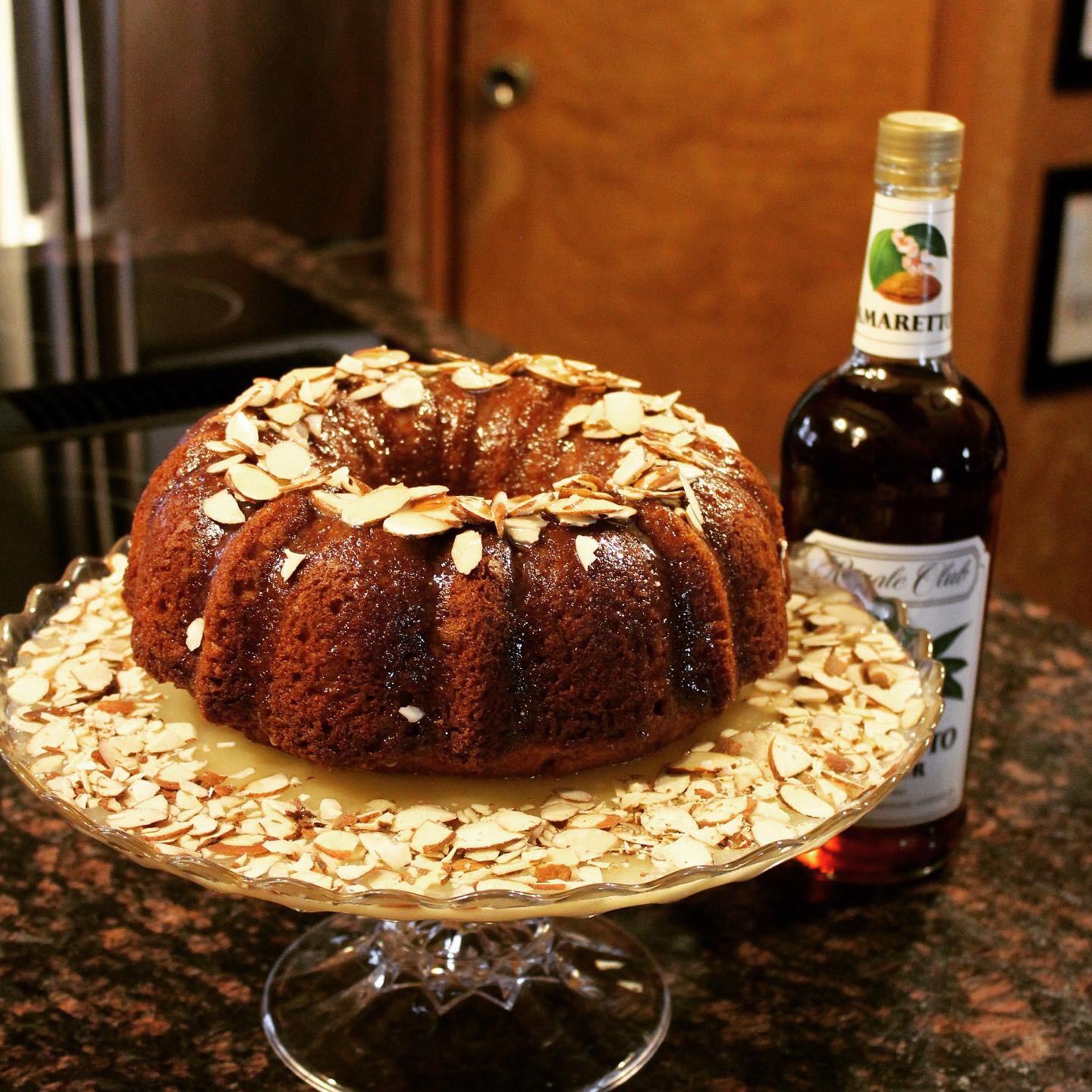 Almond Amaretto Bundt Cake
