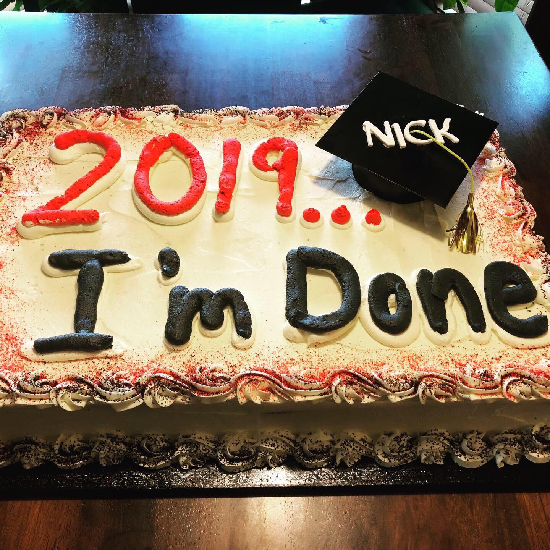2019...I'm Done!