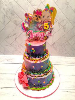 JoJo Siwa Birthday Cake