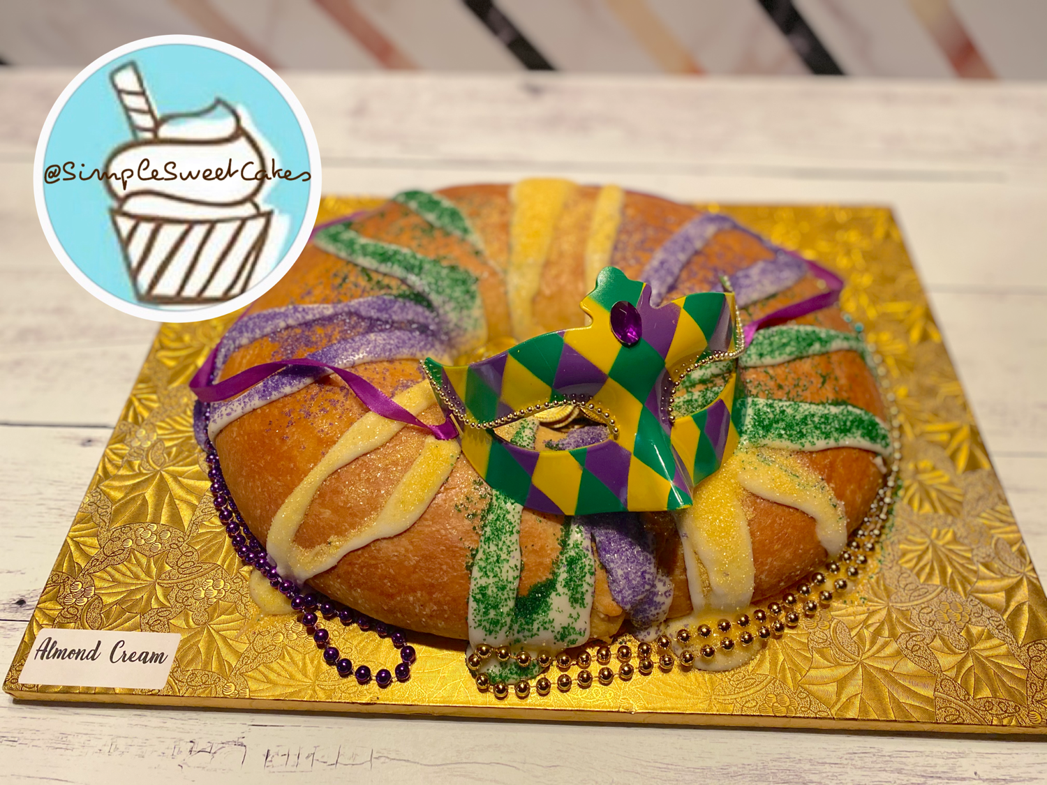 Almond Cream - King Cake