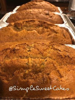 Banana Zucchini Bread Loaves