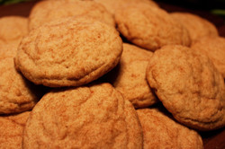 Brown Sugar Snickerdoodle Cookies