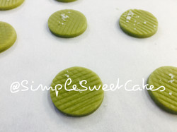 Matcha Green Tea Shortbreads