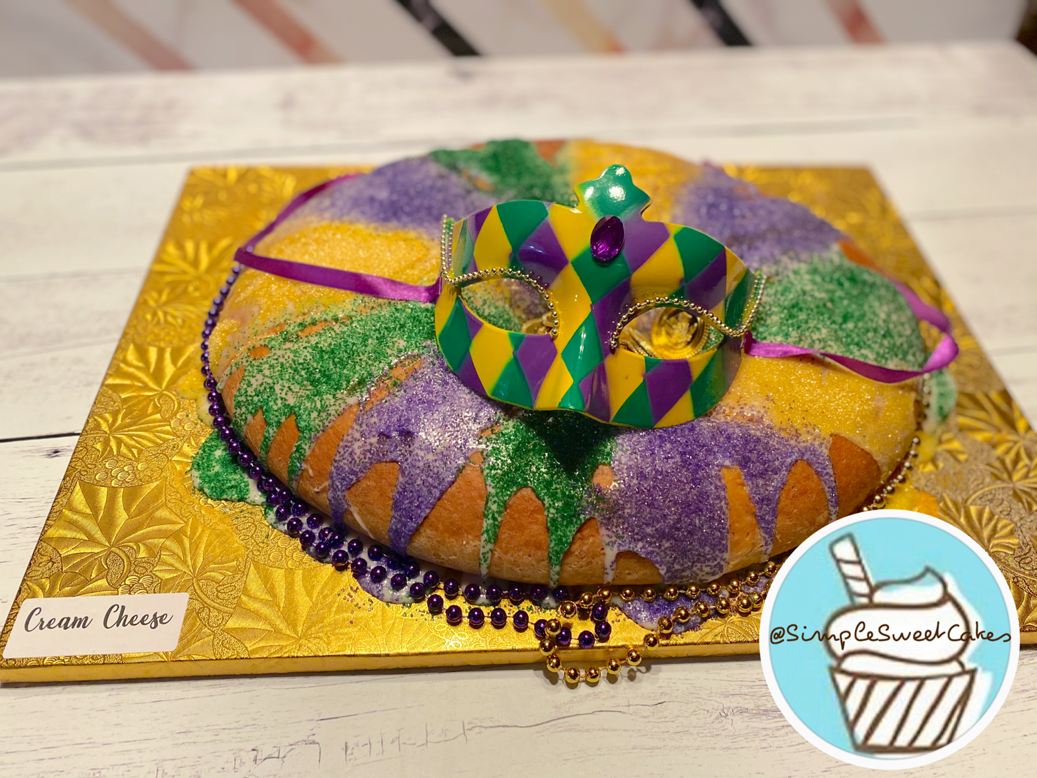 Cream Cheese - King Cake