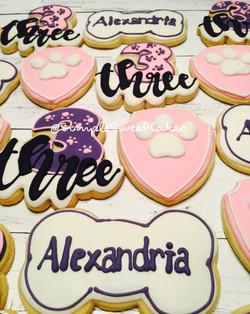 Paw Patrol Decorated Sugar Cookies
