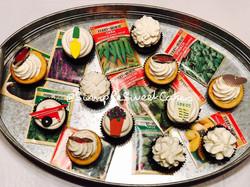 Garden Love Cupcakes