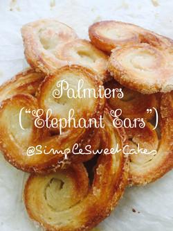 Palmiers (Elephant Ears)