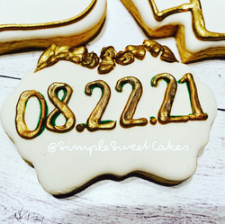 Save-the-Date Cookie