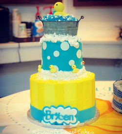 Rubber Ducky Babyshower Cake
