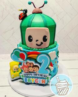 Cocomelon Cake - Happy 2nd Birthday Brycen!