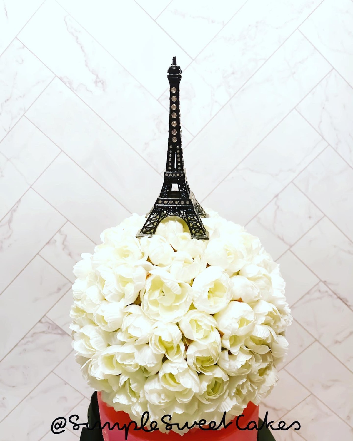 Eifel Tower Cake Topper